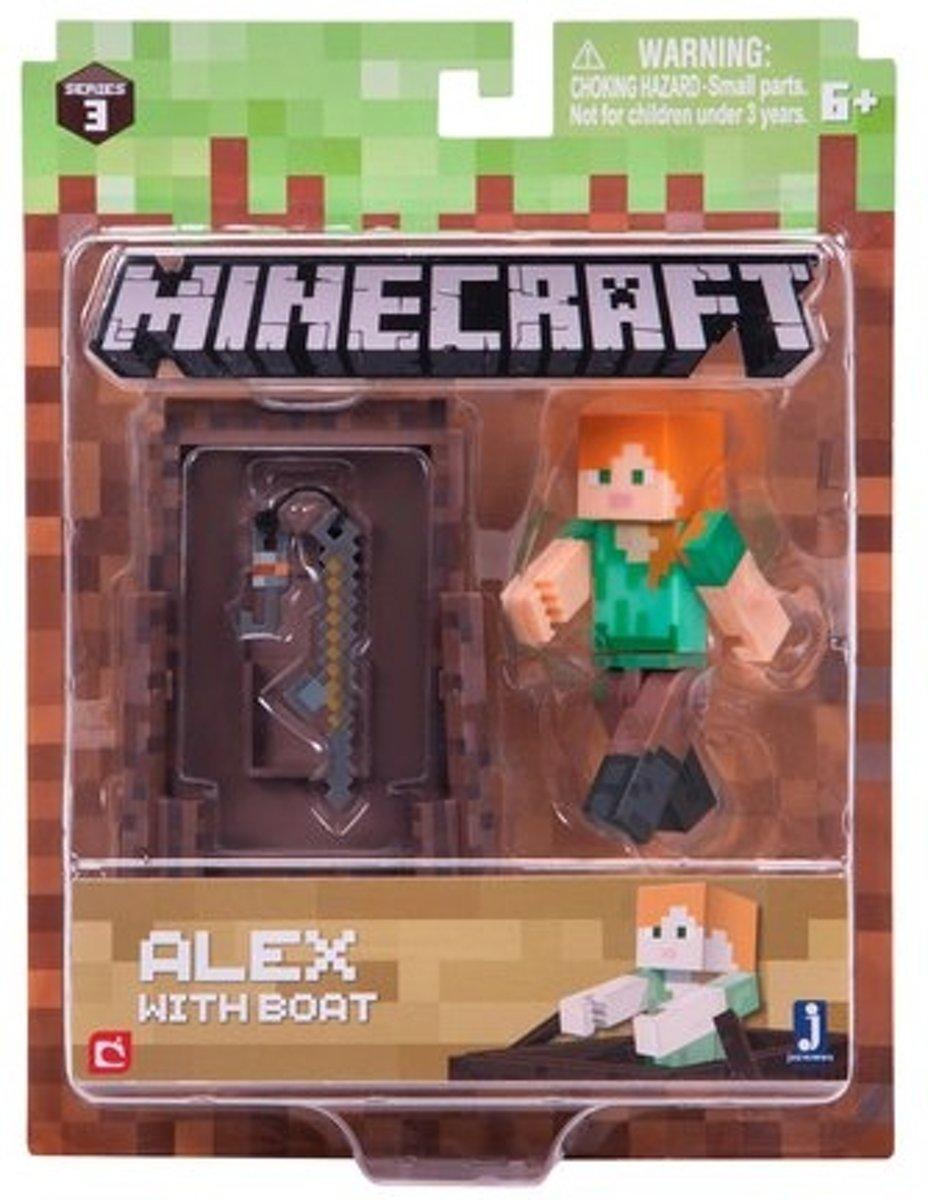 MINECRAFT Alex Fishing Pack - Speelfiguur