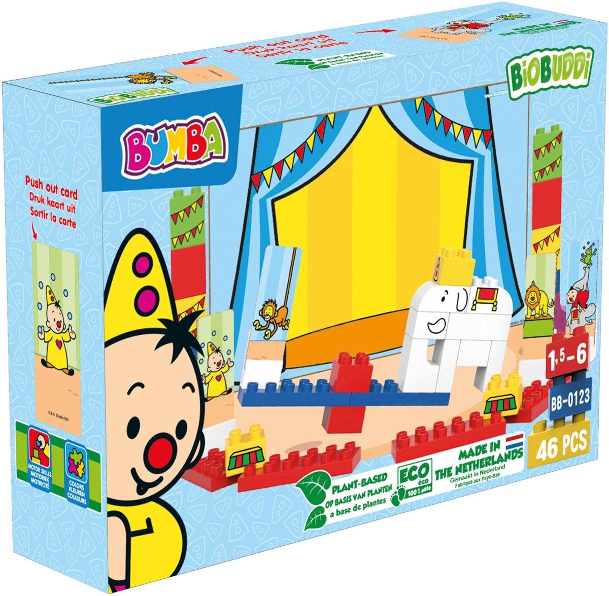 BiOBUDDi Bumba circus - 46 delig