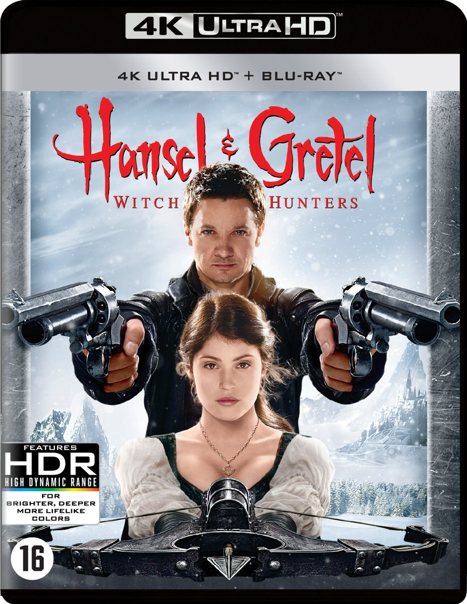 Hansel & Gretel: Witch Hunters (Ultra Hd Blu-ray)-