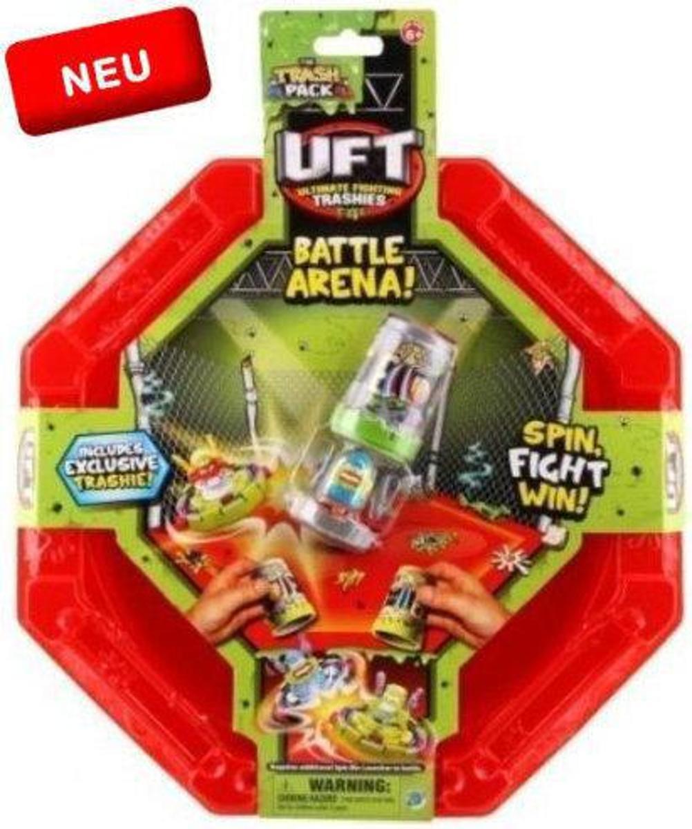 Trash Pack battle arena - UFT Ultimate Fighting Trashies - Draai & Vecht Arena Actiespel