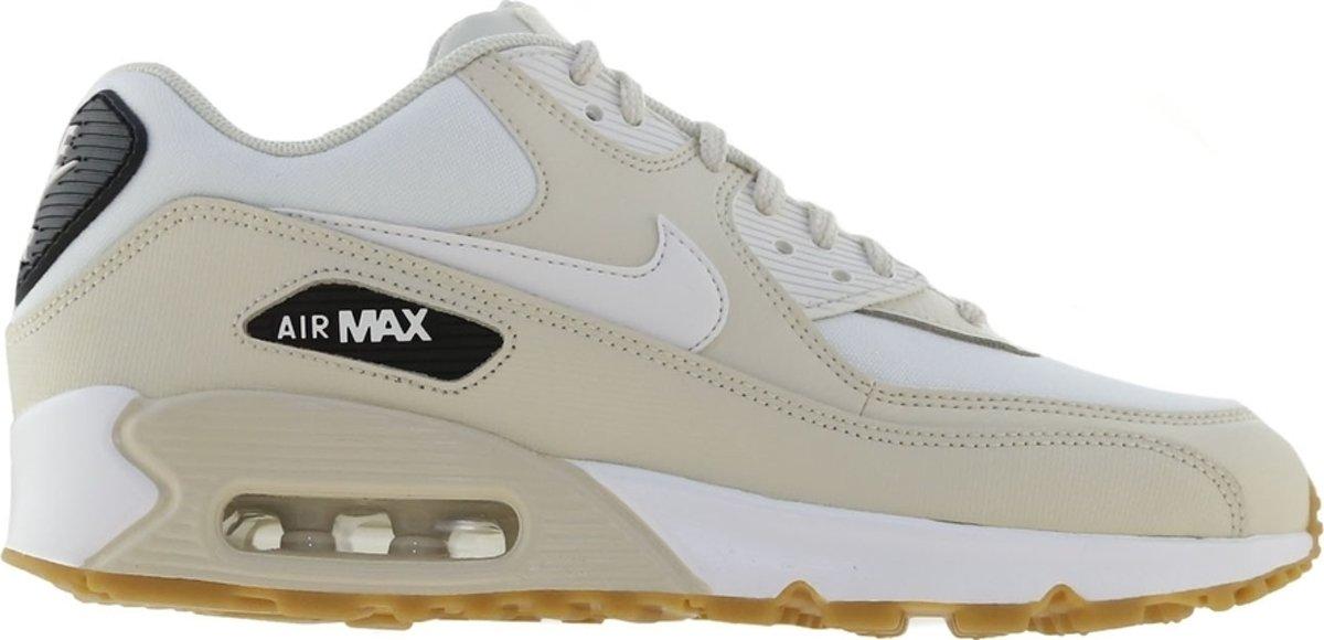 Nike Air Max 90 Sneakers - Maat 41 - Vrouwen - crème/wit/zwart