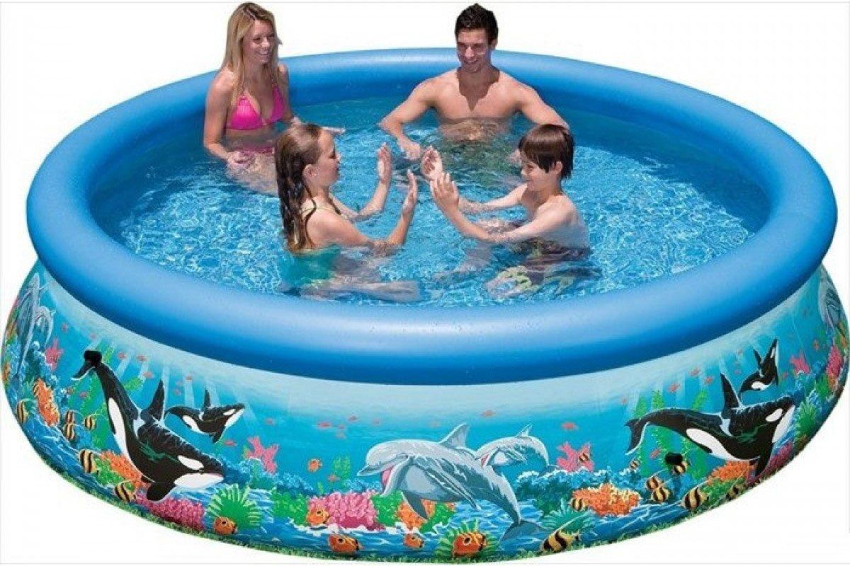 Intex Easy Set Pool Zwembad Ocean Reef 305 x 76 cm