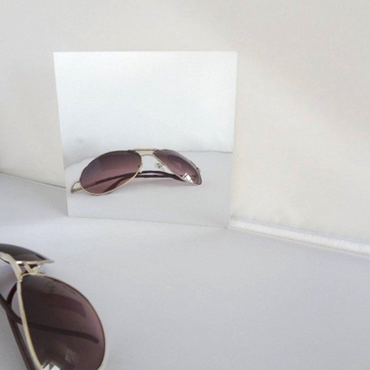 bol.com | Spiegel muur sticker - Spiegel hangend - Spiegel wand ...
