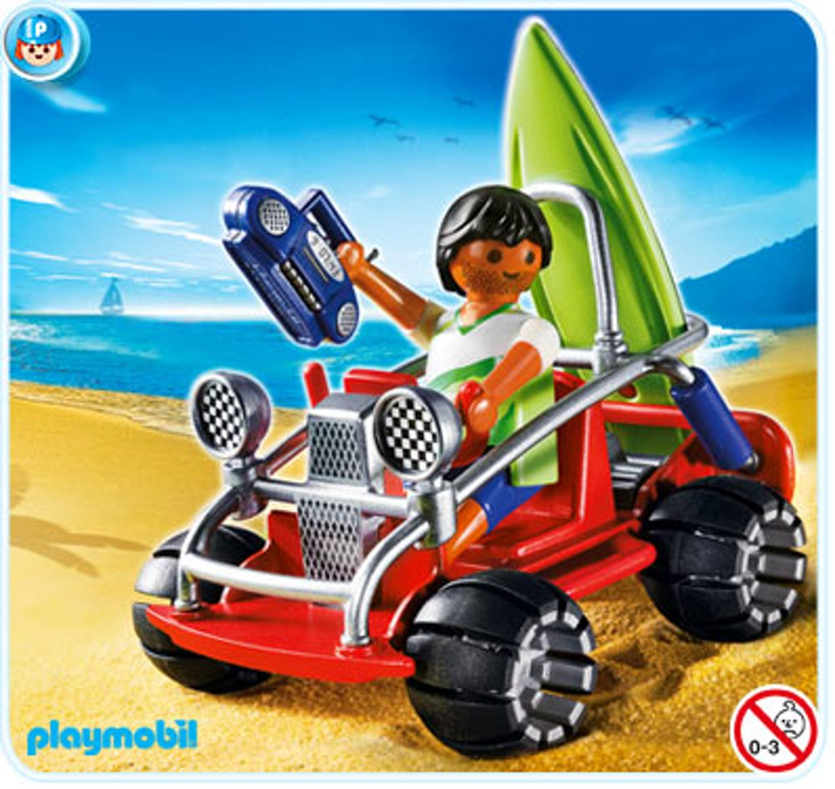 Playmobil Strandbuggy - 4863