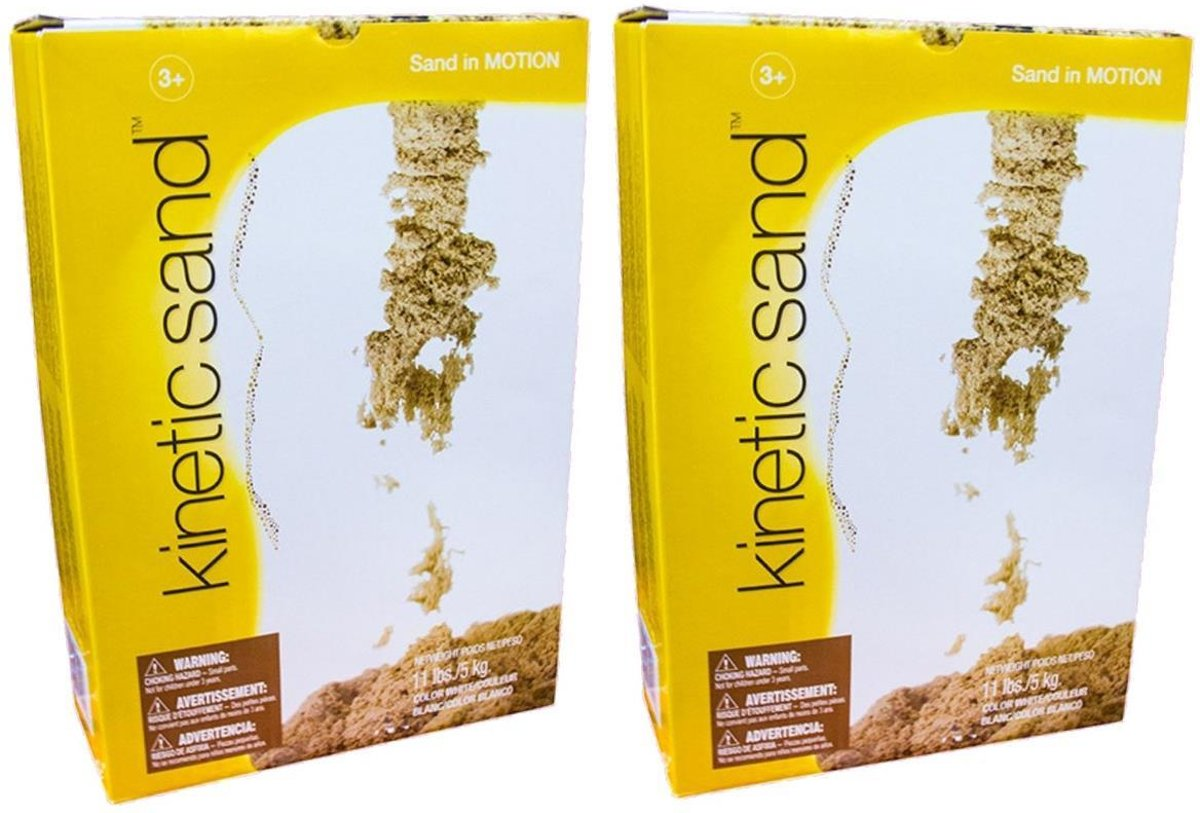 Plustoys Kinetic Sand 2 x 5Kg