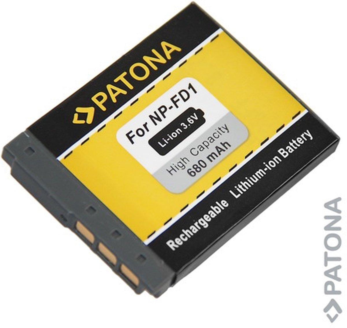 Image of Battery for SONY DSC-T200 DSC-T70 DSC-T2 NP-BD1 NPBD1 NP-FD1 (4260218591943)