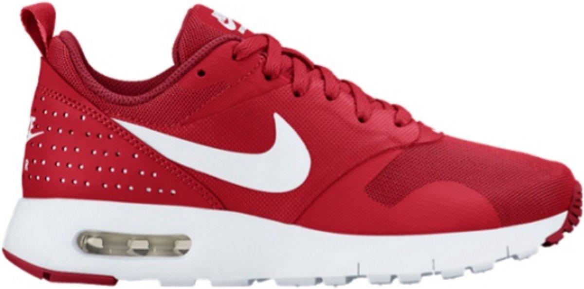 Nike Air Max Tavas Schoenen Kinderen Rood Rood Wit Nike