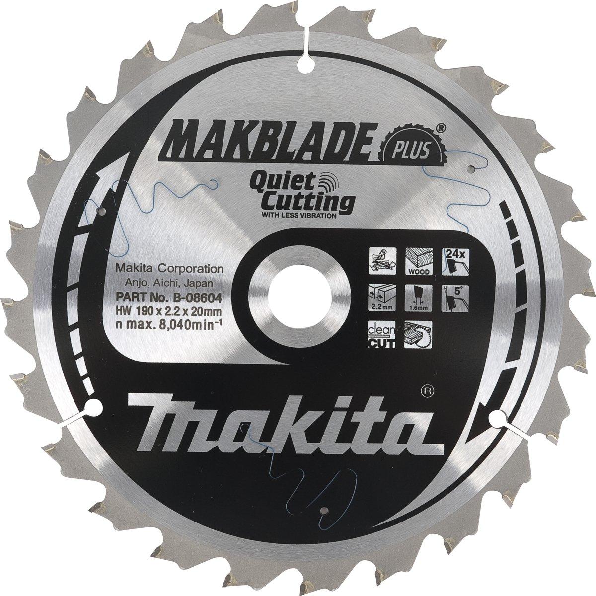 Makita B-56502 Zaagb Q+C 165x20x1,9 64T 10g