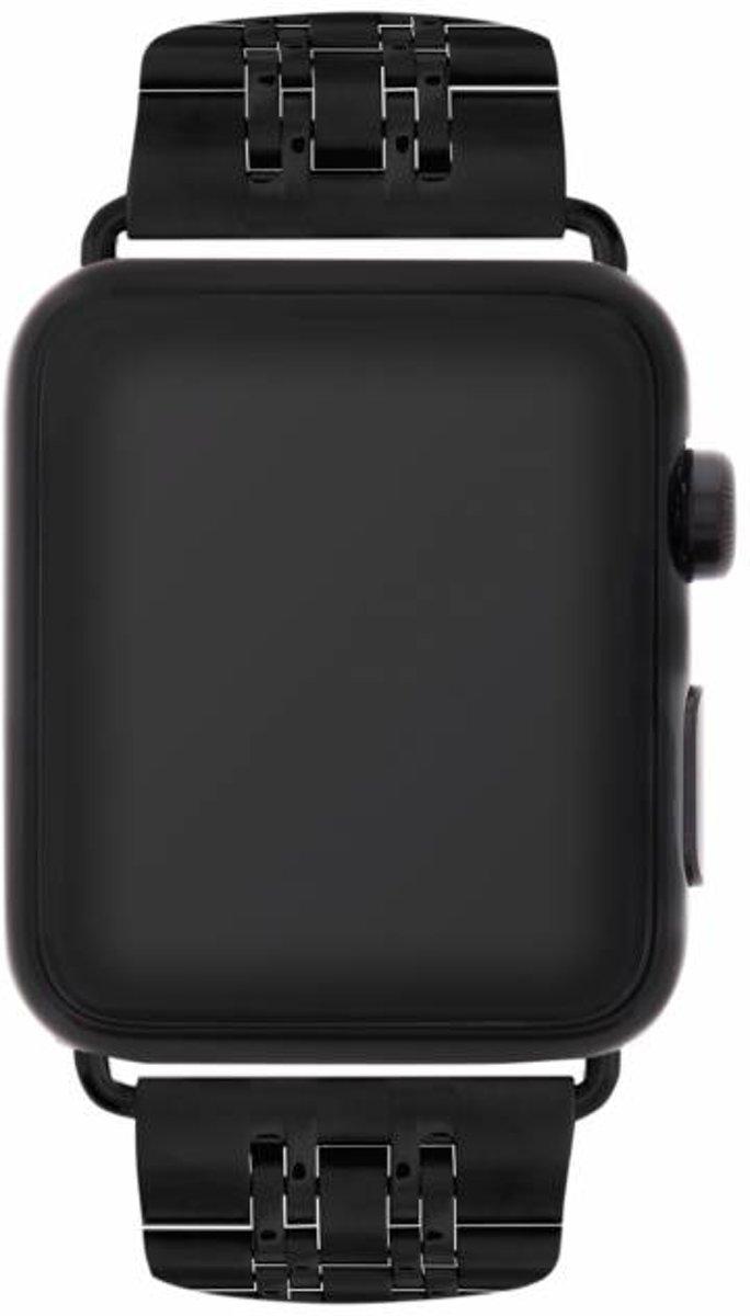 Zwart Stainless steel watch band voor de Apple Watch 44 mm / 42 mm kopen