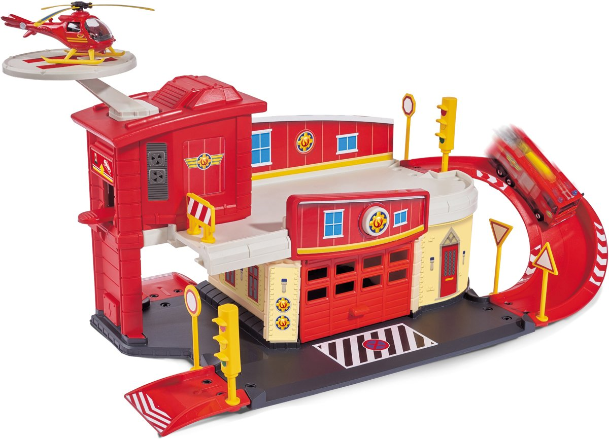 Brandweerman Sam Brandweerkazerne