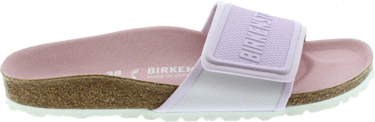 Birkenstock Tema Smal Sport Tech Dames Slippers - Lilac - Maat 37 kopen