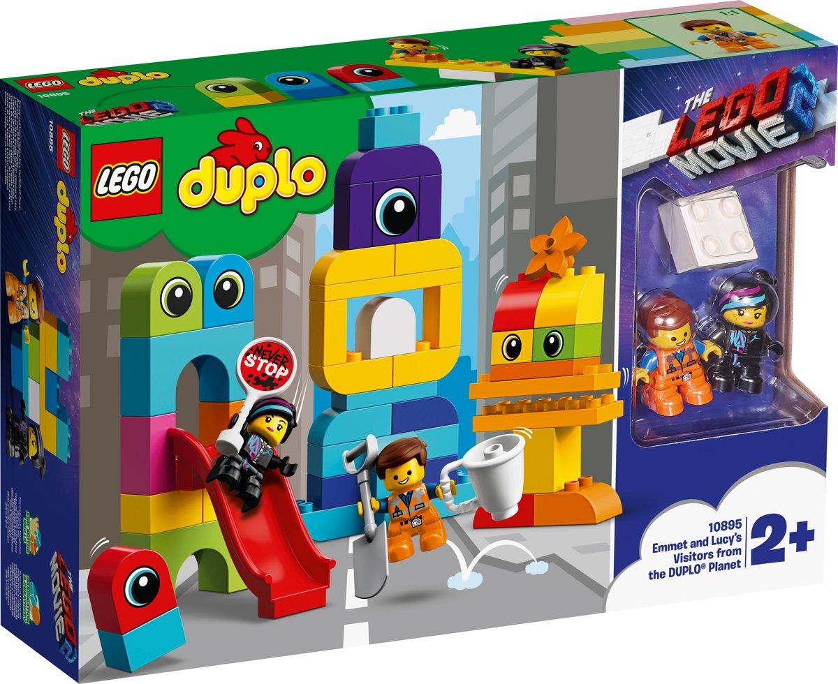 LEGO DUPLO The Movie 2 Visite voor Emmet en Lucy van de DUPLO Planeet - 10895