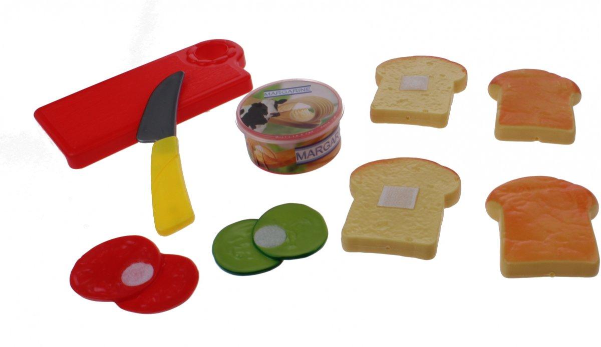 Home And Kitchen Snijbrood Met Groente En Boter 9-delig