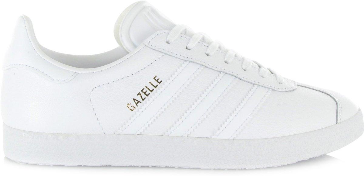 cheap for discount c6d26 cb5dd bol.com   adidas Gazelle Sneakers Heren Sportschoenen - Maat 38 2 3 -  Mannen - wit goud
