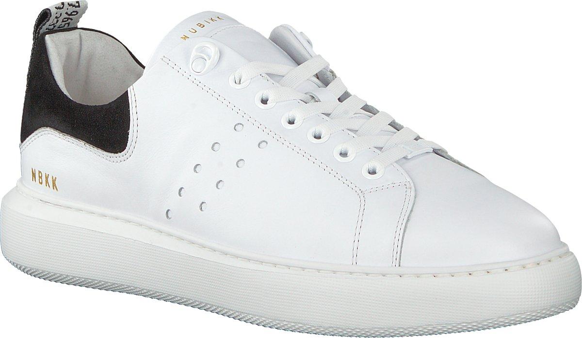 cb22951e876 bol.com | Nubikk Heren Sneakers Scott Calf - Wit - Maat 44