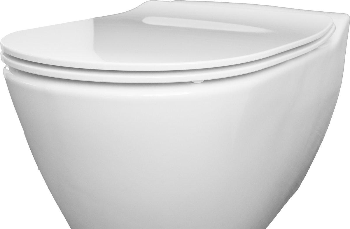 Toilet Zonder Afvoer : Bol bien mineral douche wc met bidet rimless rimfree zonder rand