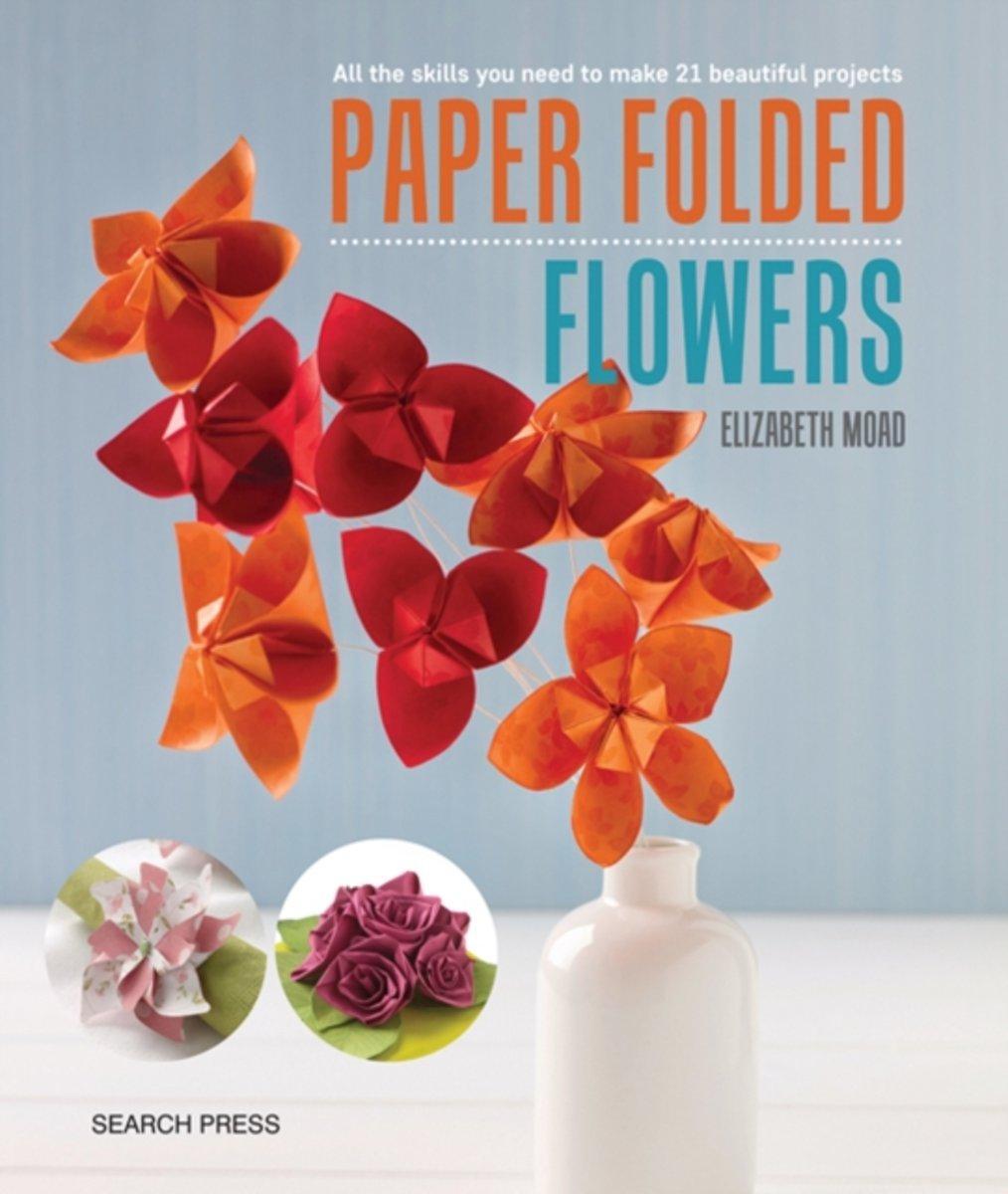 Bol Paper Folded Flowers Elizabeth Moad 9781782214267 Boeken