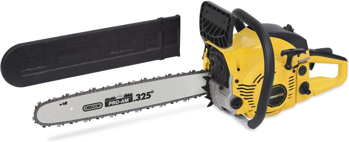 Powerplus POWXG1022 Benzine kettingzaag 45cc | Motorzaag