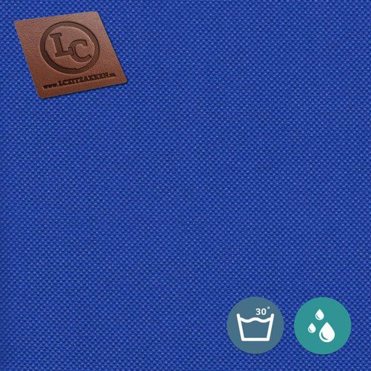LC Zitzak hoes Barça outdoor kobaltblauw - Wasbaar - Geschikt voor buiten kopen