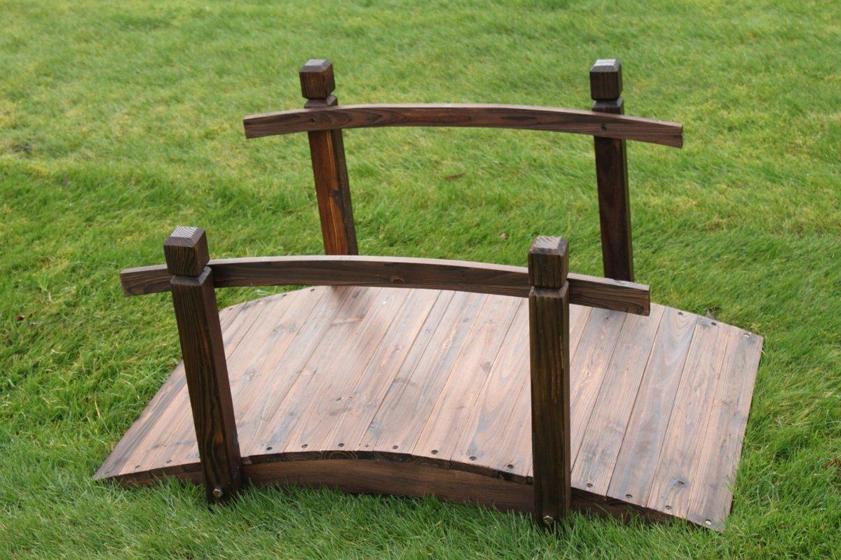 Tuinbrug - Sierbrug - Tuin - Hout - 100 cm kopen