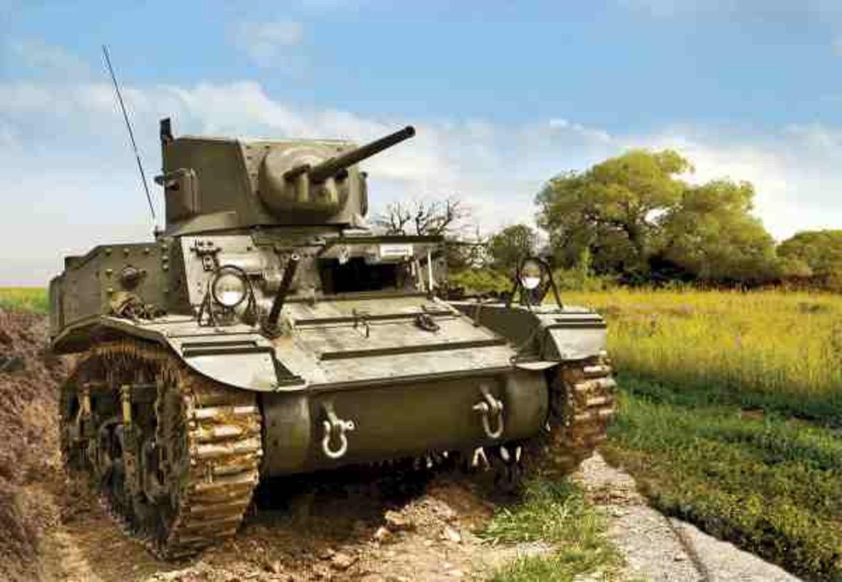 Zvezda - Stuart Us-tank (Zve6265)
