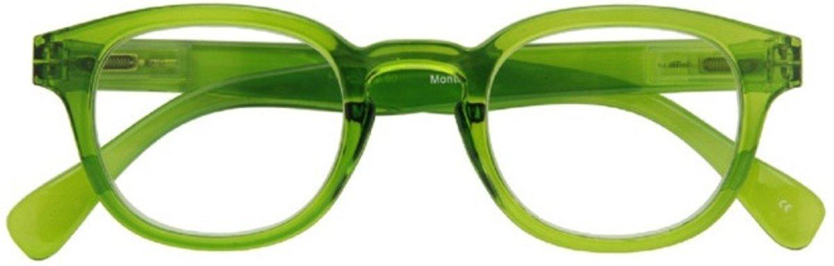 Croon Leesbril Montel Unisex Groen Sterkte +2 kopen
