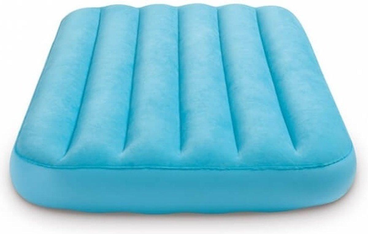 Intex Kinderluchtbed Cozy Blauw 157 X 88 X 18 Cm kopen
