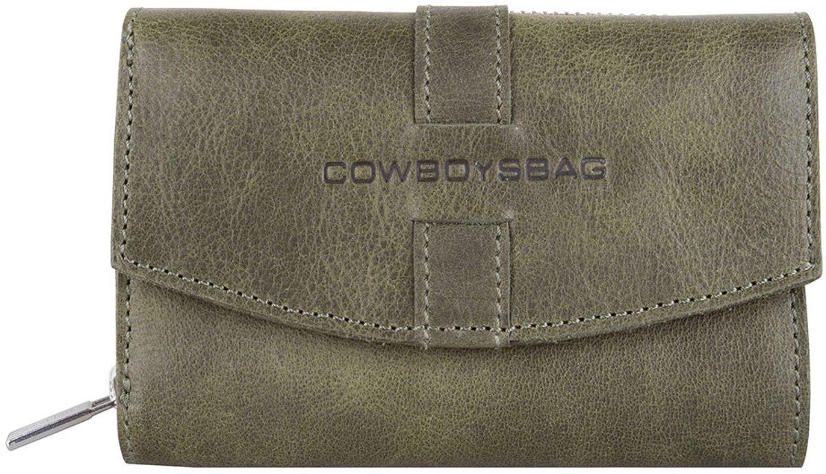 Cowboysbag Purse Adel Dames Portemonnee Forest Green