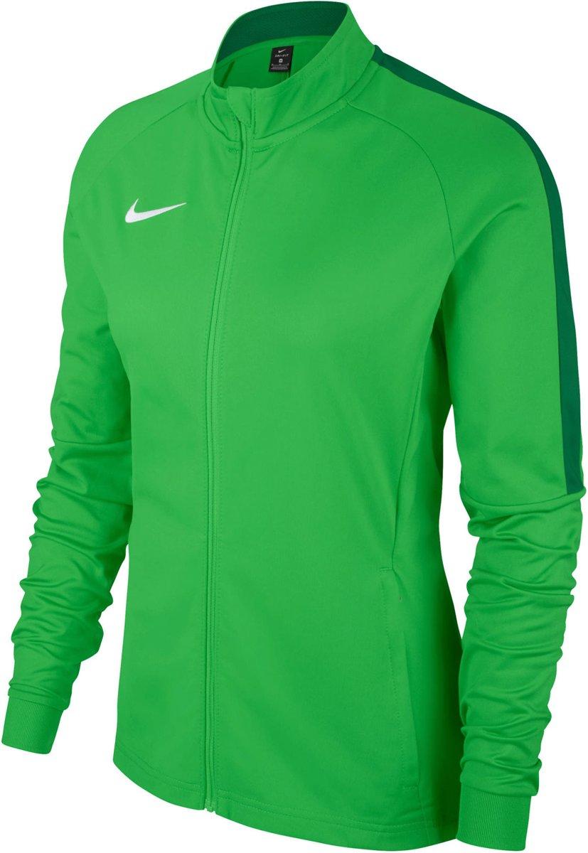 Nike Dry Academy 18 Trainingsjas Dames Trainingsjas Maat M Vrouwen groen