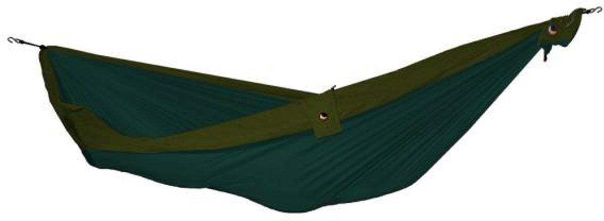 Double Hammock- 2 Persoons Hangmat - Dark Green