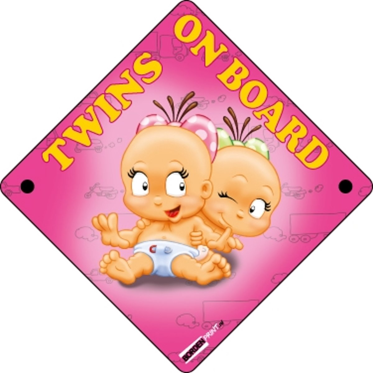 Twins on Board, Roze, Meisjes