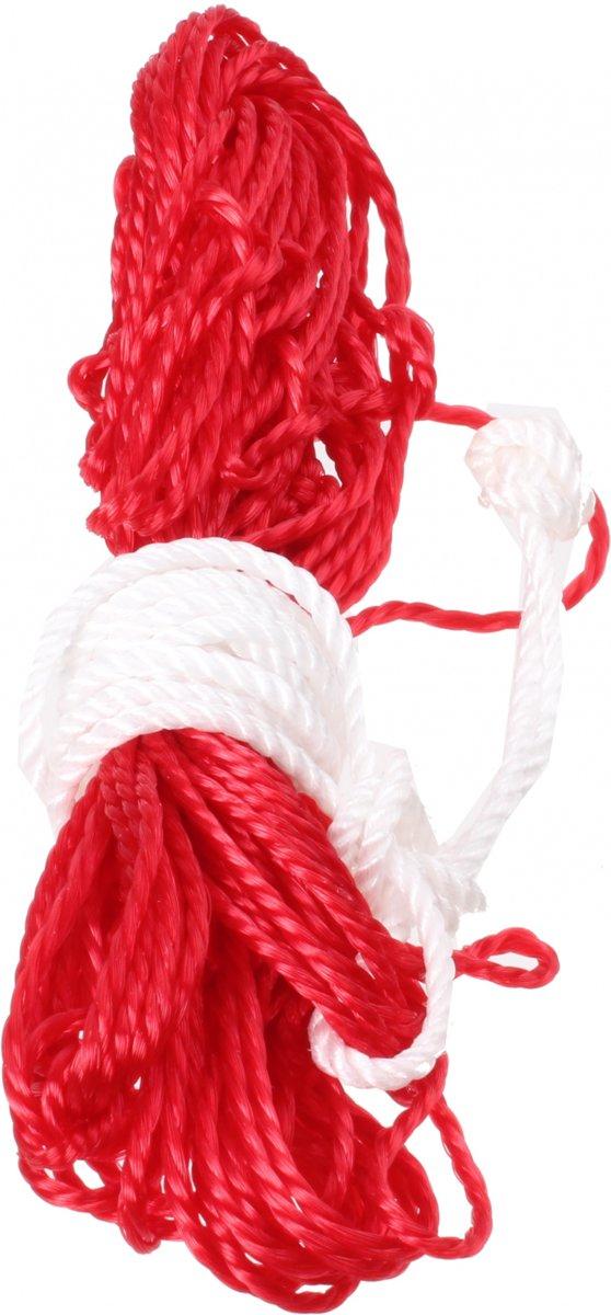 Ballennet voor 2 Ballen - Rood/Wit kopen