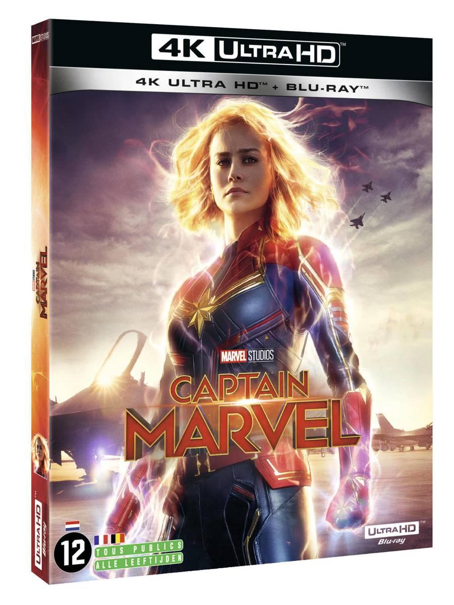 Captain Marvel (4K Ultra HD Blu-ray)-