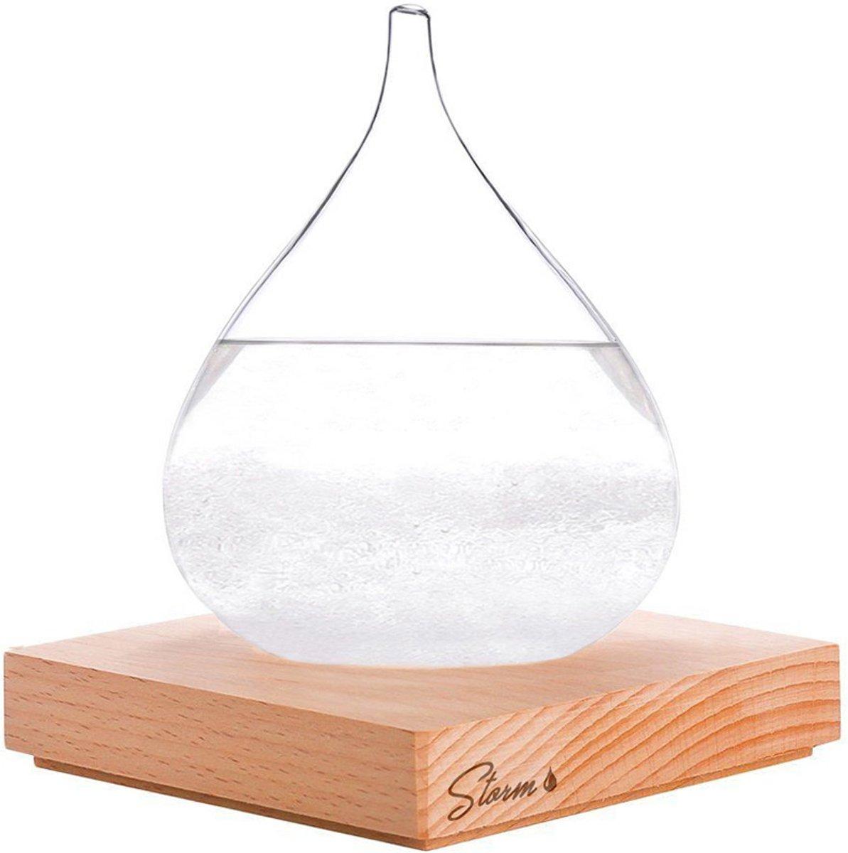 MikaMax - Stormglas small - Barometer kopen