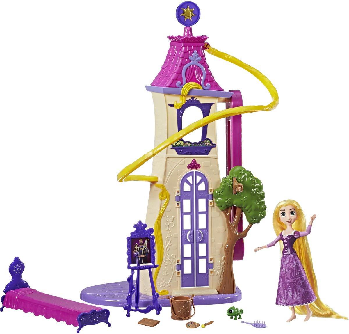Disney Princess Tangled Rapunzel's Zwaaiende Lokken Kasteel