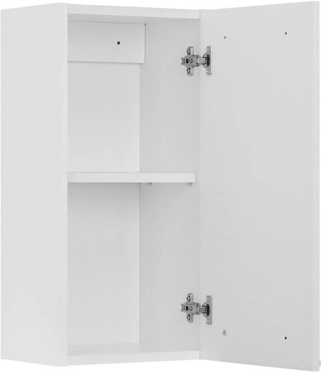 bol.com   Athena - Badkamerkast - Bovenkast - Met 1 deurtje - Wit ...