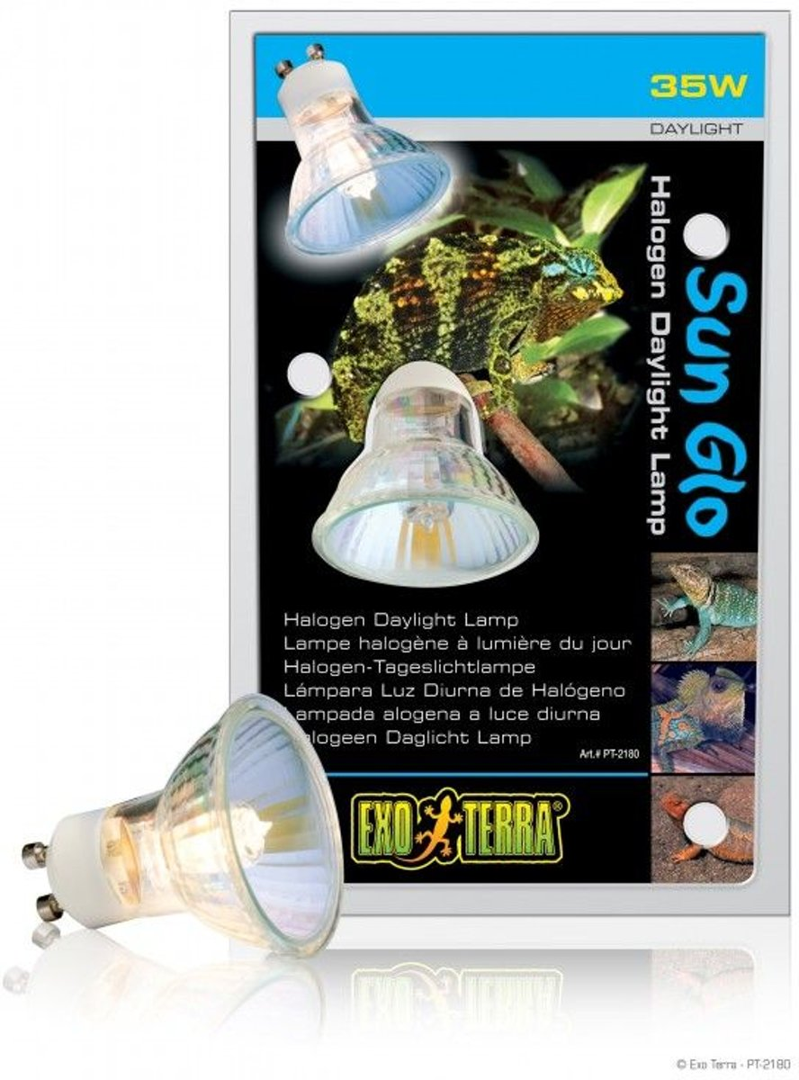 Exo Terra Sun Glo Halogeen Daglichtlamp 35W