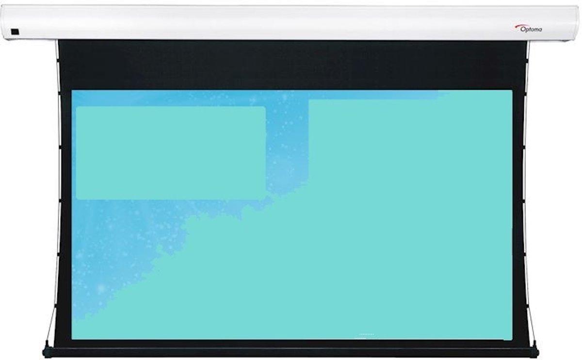 Optoma Electrisch bediend Tab Tensioned Screen 4k projectiescherm 16:9 106inch kopen