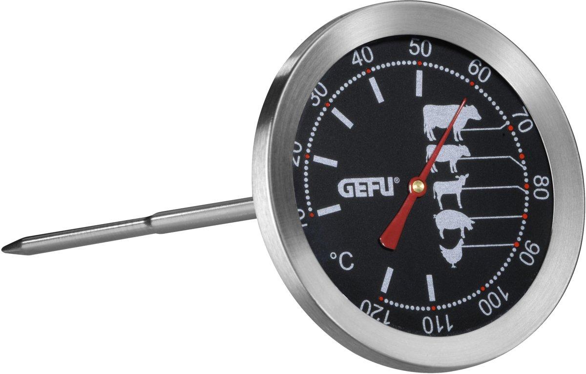 GEFU Gebraadthermometer - RVS - Zwart