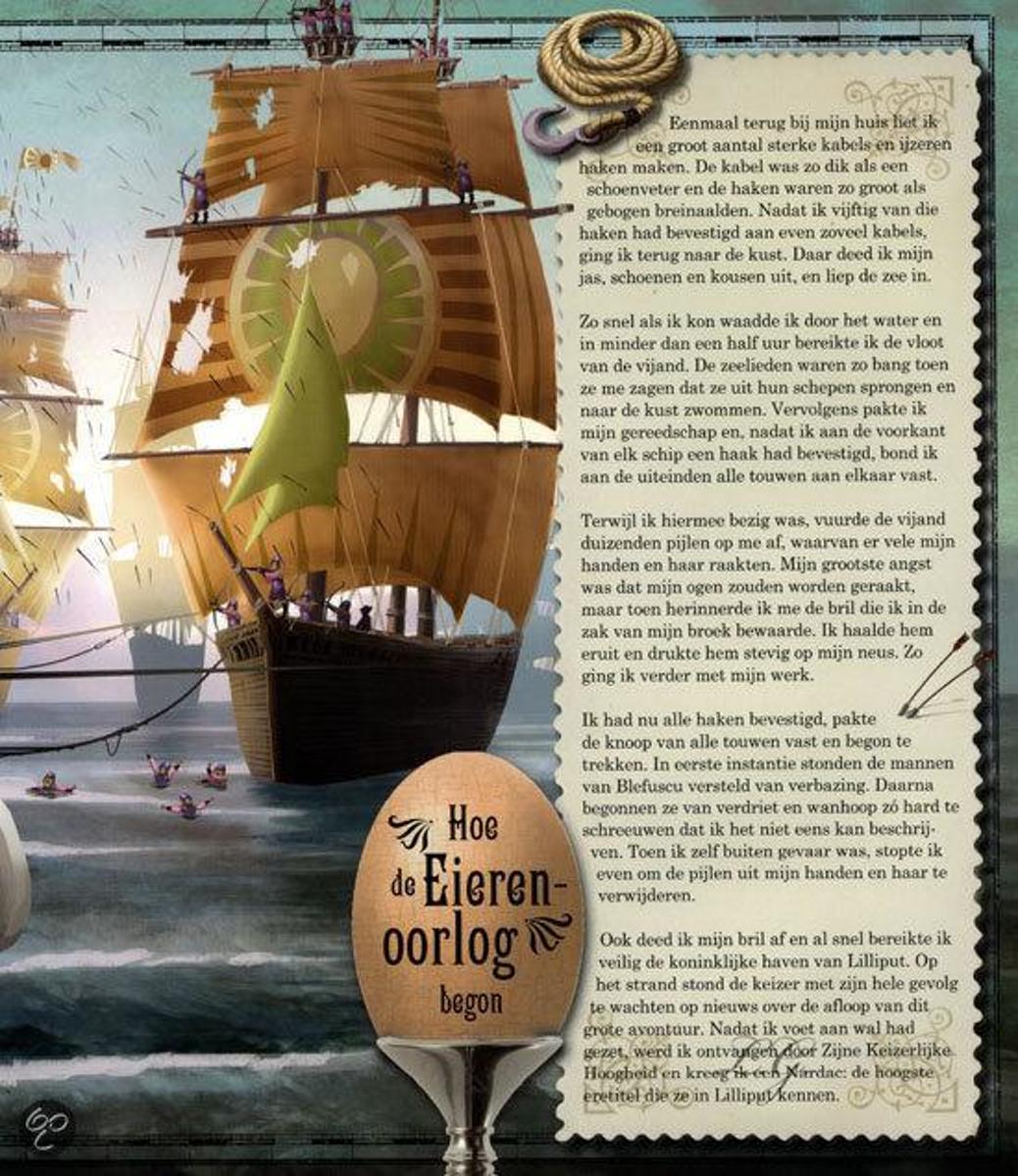 Bolcom Gullivers Reizen Harriet Castor 9789021548982 Boeken