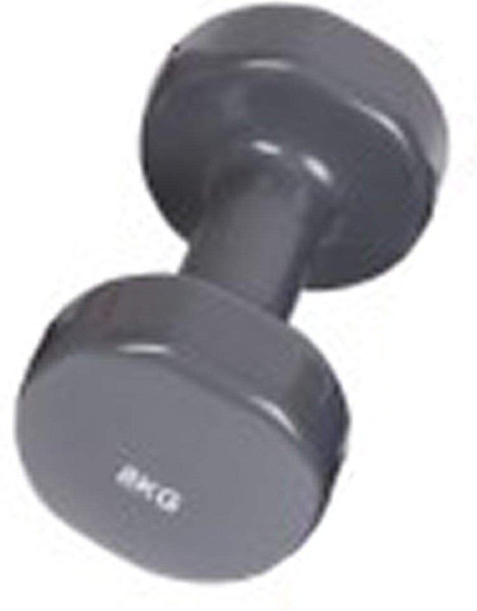 Trainingshalters 8 kg, donkergrijs kopen