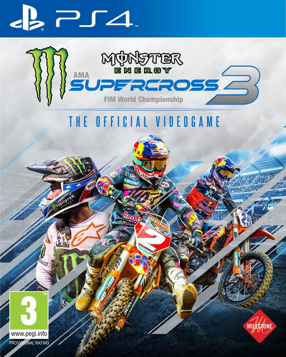 Monster Energy Supercross 3: The Official Videogame (PS4) kopen
