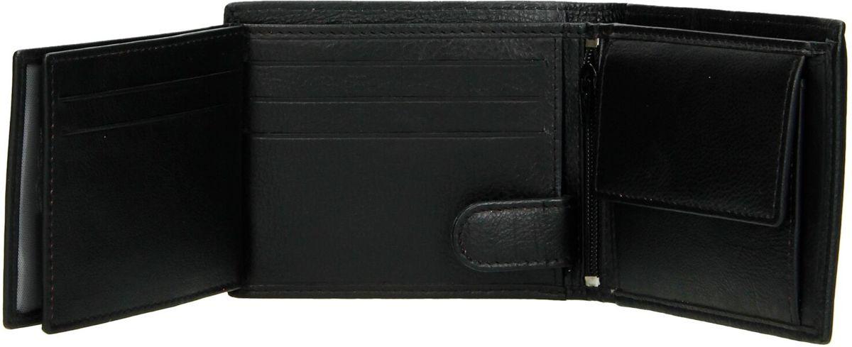 8b2968404d7 bol.com | Heren Portemonnee Bilfold Echt Leer Klein Model - RFID