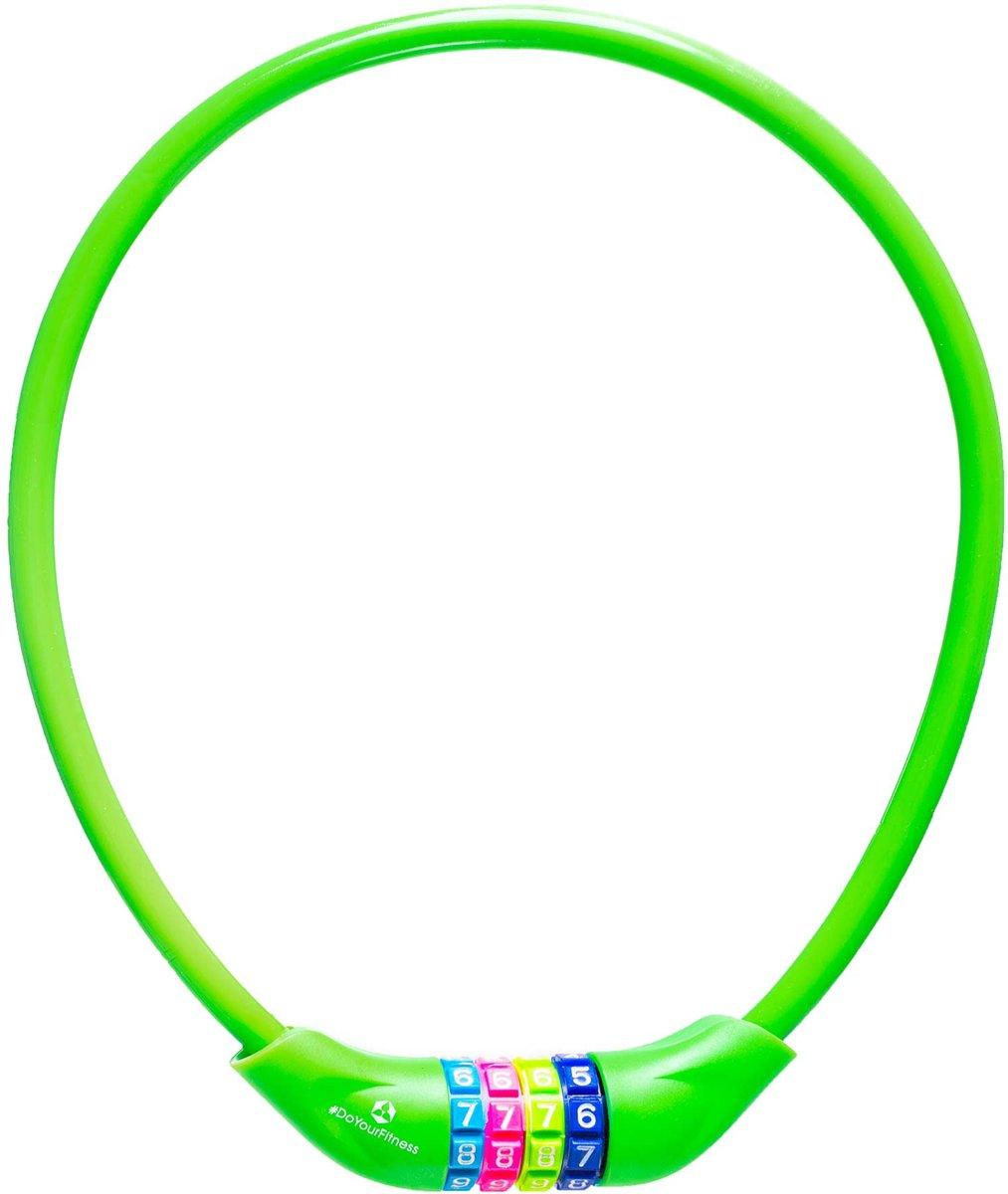 #DoYourOutdoor - Fietsslot - »Protector« - Kettingslot - L 70 cm, Ø  25 cm, dikte ca. 3/4 mm - groen