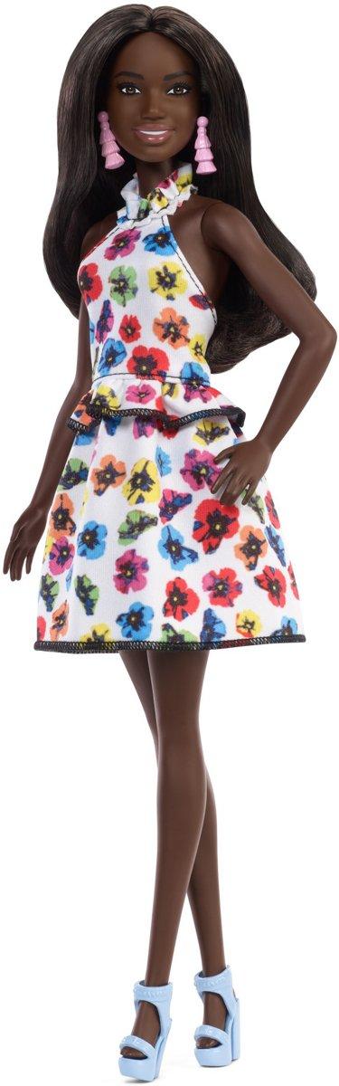 Barbie Barbie Fashionistas: bloemenjurk 29 cm
