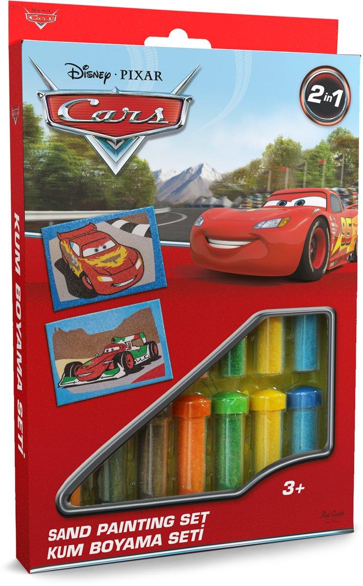 Disney · PIXAR Cars - Lightning McQueen & Francesco Bernoulli ? 2in1 Sand Painting Art Set kopen