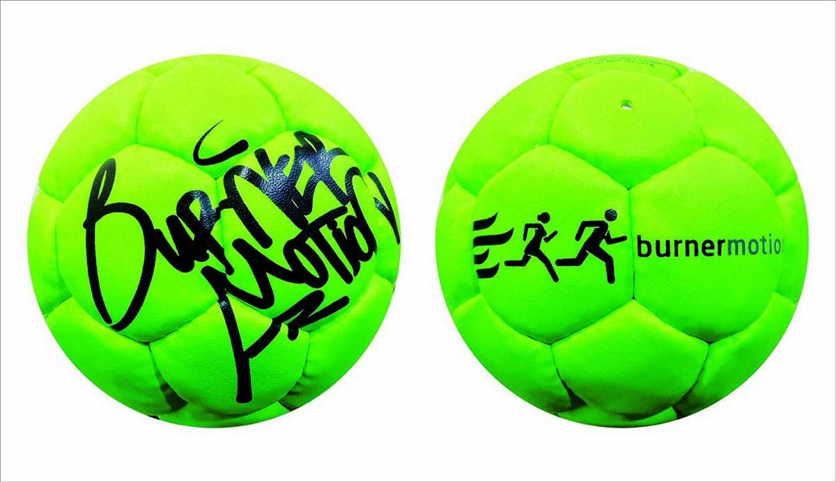 Burner Motion Gameball | Trefbal | Zachte bal Groen kopen