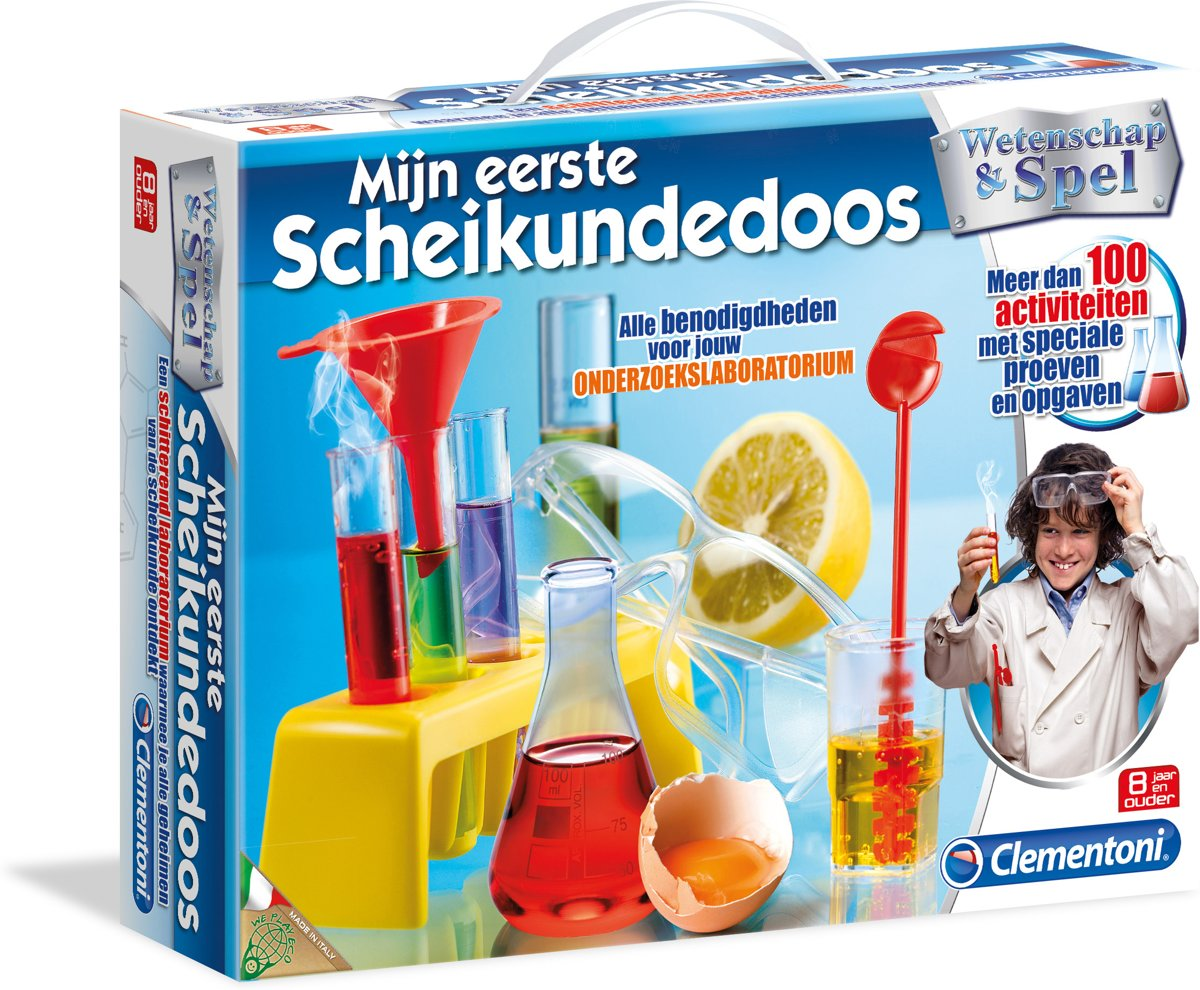 Clementoni - Mijn Eerste Scheikundedoos - Experimenteerset kopen