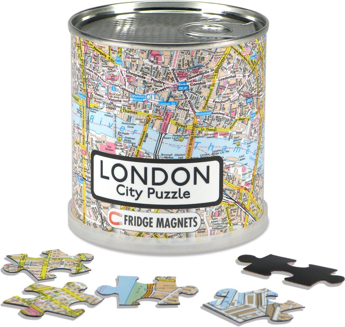 City Puzzle London City - Puzzel - Magnetisch - 100 puzzelstukjes