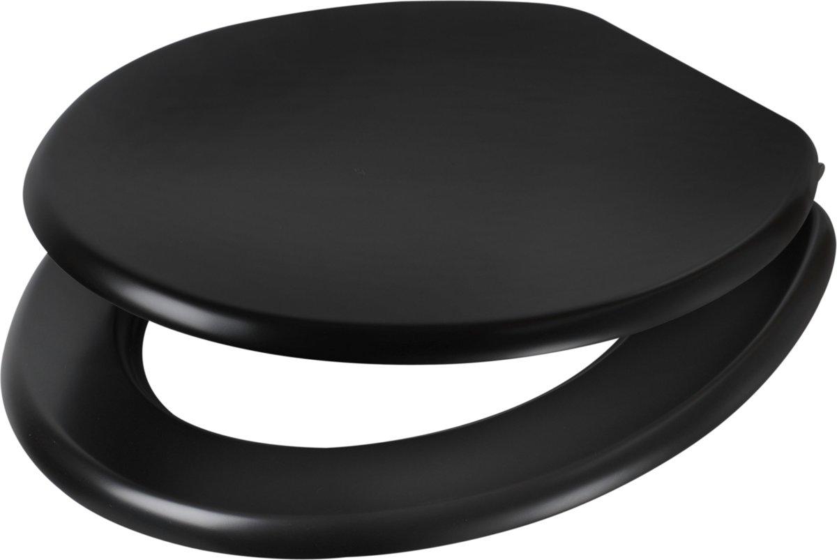 Plieger Classic wc-bril - MDF - Zwart kopen